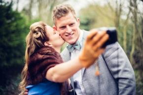Andrea & Jake – Vintage pre-weddingshoot