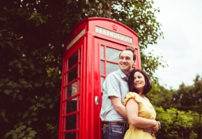 Addie & George – Warwickshire pre wedding shoot