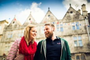 Daisy & Joe – Tetbury pre wedding shoot
