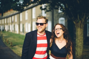 Amy & Dan – Cambridge pre wedding shoot