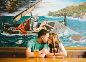 Alison & Chris – a fun pre wedding shoot inBath