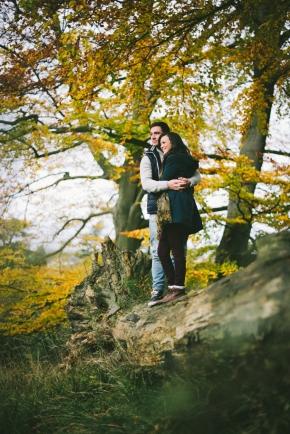 Beckie & Dan – Pre wedding shoot in thewoods