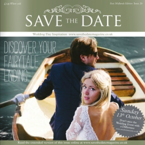 My snappy-snaps all over Save the Date magazine!