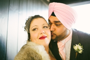 Nicki & Balinder – Henley winter wedding