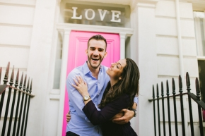 Carla & Murilo – a Sunny pre-wedding shoot in London
