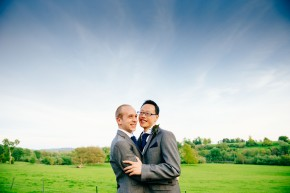 Shane & Pete – Sunny Somerset wedding