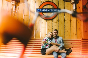 Amelia & Stephen – a sunny summer pre wedding shoot in London