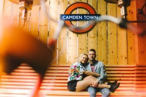 Amelia & Stephen – a sunny summer pre wedding shoot inLondon
