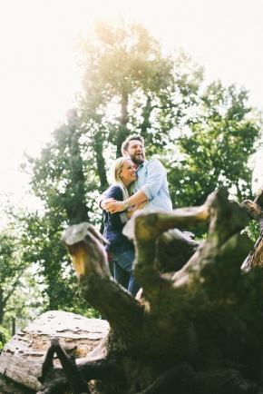 Jen & Dene – pre wedding shoot at ClumberPark